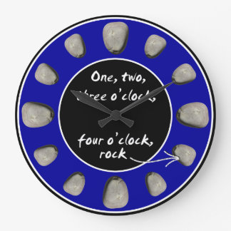 1-2-3-4 O'clock Rock - Clock (Electric Blue)