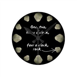 1-2-3-4 roca del en punto - reloj cara oscura