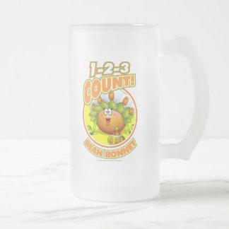 1-2-3 capo de la haba de la cuenta tazas de café