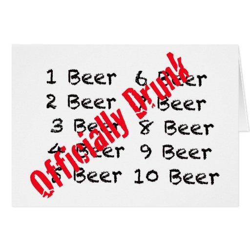 1,2,3, cerveza bebida oficialmente tarjetón