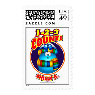 1-2-3 Chilly B. Postage