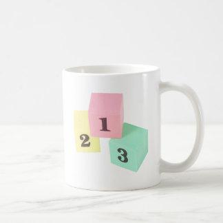 1,2,3 COFFEE MUG