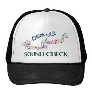 1.2.3 Control de los sonidos Gorras