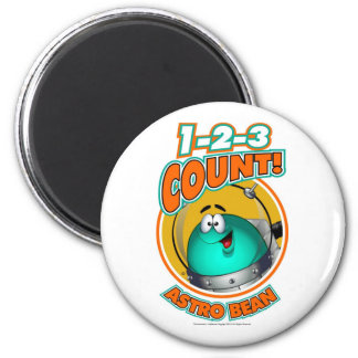 1-2-3 Count Astro Bean Magnet