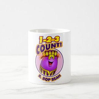 1-2-3 Count B. Bop Bean Coffee Mug