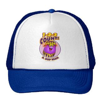 1-2-3 Count B. Bop Bean Trucker Hat