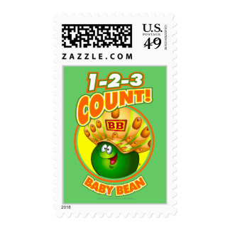 1-2-3 Count Baby Bean Stamps