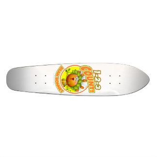 1-2-3 Count Bean Bonnet Skateboard Deck