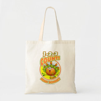 1-2-3 Count Bean Bonnet Tote Bag
