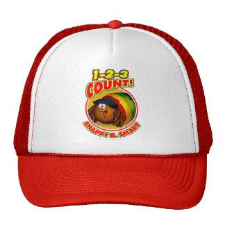 1-2-3 Count Snappy B. Smart Trucker Hat