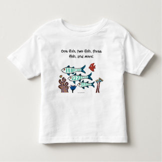 1, 2, 3 Fish with Little Fish and Coral Tees