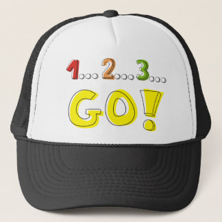 1... 2... 3... GO! TRUCKER HAT
