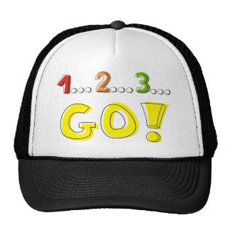 1... 2... 3... GO! TRUCKER HAT