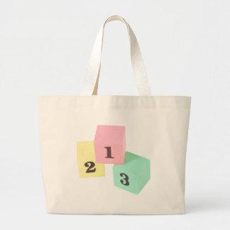 1,2,3 LARGE TOTE BAG