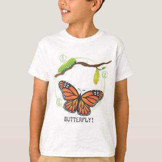 ¡1-2-3 mariposa! playeras