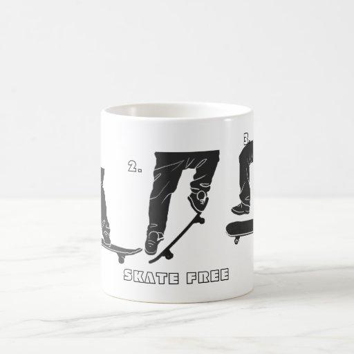 1,2,3 SKATE FREE Mug