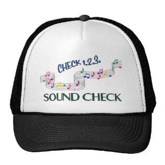 1.2.3 Sound Check Trucker Hat