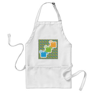 1 2 3 Steps vector Adult Apron