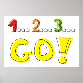 1… 2… 3… ¡VAYA! compita con el poster de motivació