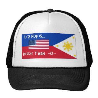 1 2 Flip is Better than -0- Hats