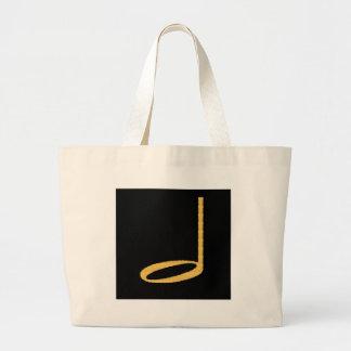 1/2 Half Note Canvas Bag