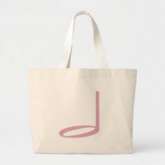 1/2 Half Note Tote Bag
