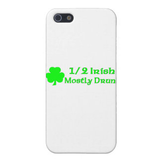 1/2 Irish Mostly Drunk iPhone 5 Cases