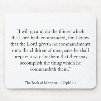 1. 3:7 de Nephi Tapete De Ratones