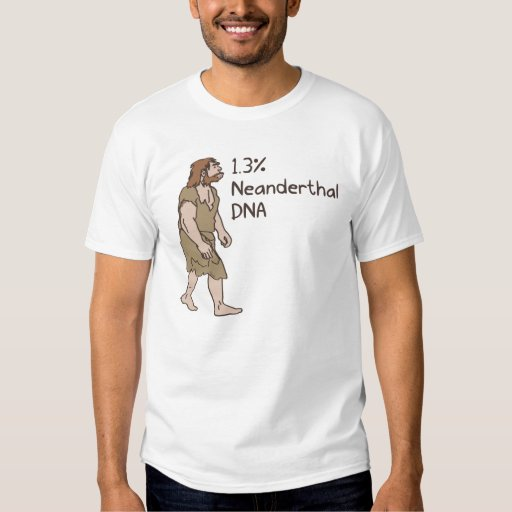 1,3% Camisa del Neanderthal