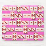 1-4-3 Heart Dominoes Mouse Pad