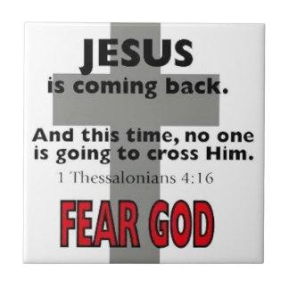 1 4:6 de Thessalonians Azulejo Cuadrado Pequeño