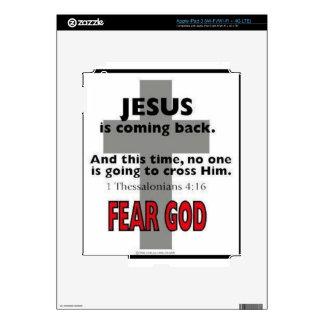 1 4:6 de Thessalonians iPad 3 Skin