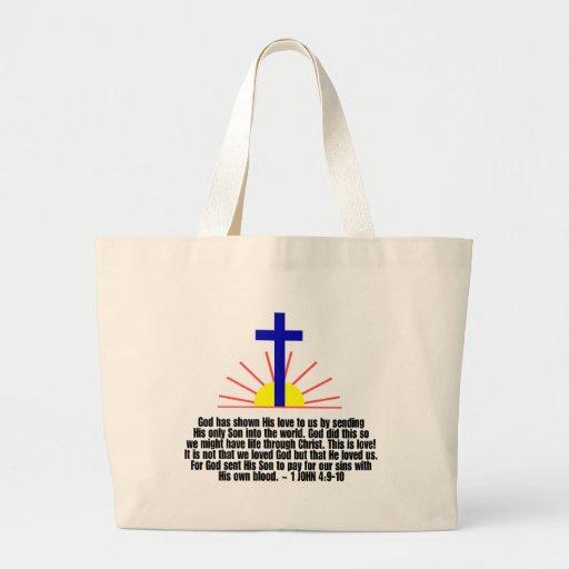 1 4:9 de Juan - 10 Bolsa De Mano