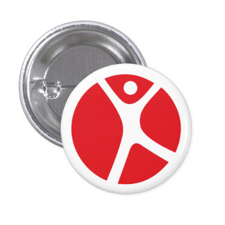 "1/4"" Button for Solo Travelers"