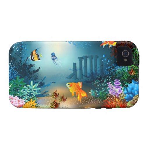 1-4 opciones subacuáticas del caso iPhone 4/4S funda