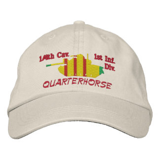 1/4th Cav.1st Inf. Div M48A3 Patton Hat