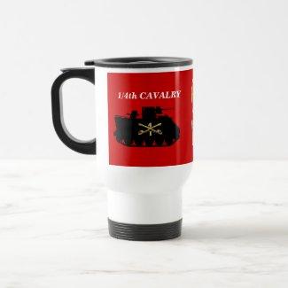 1/4th Cavalry M113 ACAV Track Mug mug