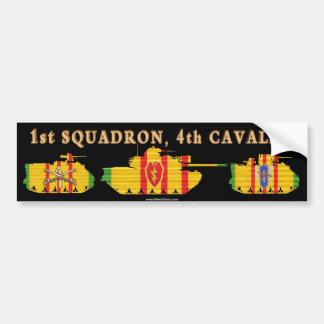 1/4th Cavalry VSR Tracks & Tank Car Bumper Sticker