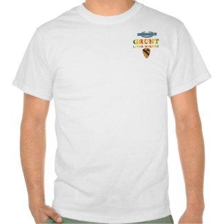 1/50th Inf. 1st Cav. Div. VSR CIB Grunt Shirt