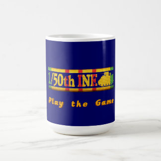 1/50th Inf., 4th Inf Div. VSR Play the Game Mug