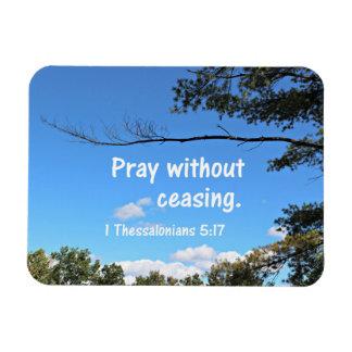 1 5:17 de Thessalonians ruega sin el cese Imán