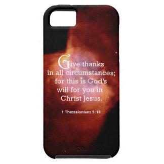 1 5:18 de Thessalonians Funda Para iPhone 5 Tough