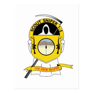 1-5-1 Scout Sniper Post Card