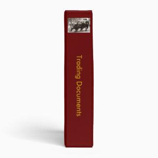 """1,5"""" carpeta de anillo comercial de los documentos"""