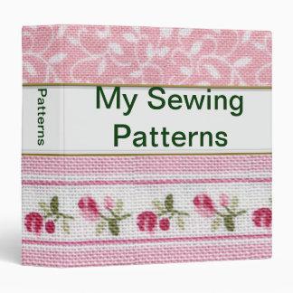 """1.5"""" Customizable Sewing Patterns Binder"""