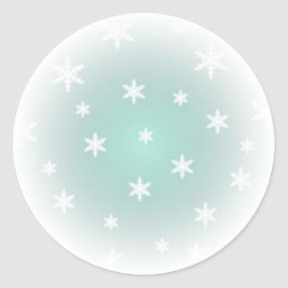 1.5 IN. SNOWFLAKE STICKER