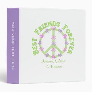"1.5"" Personalized Best Friends Binder"