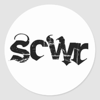 "1.5"" Sticker Sheet SCWR"