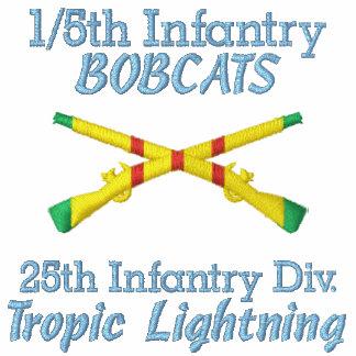 1 5th Inf 25th ID VSM Crossed Rifles Shirt