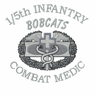 1/5th Inf. Combat Medical Badge Embroidered Shirt